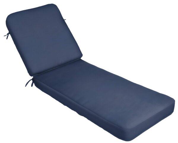 81 x 25 Premium Wide 2-Piece Chaise Cushion Chaise Cushions