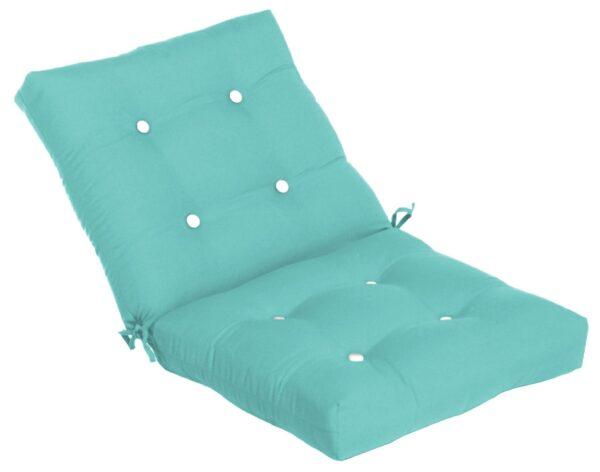40 x 22 Button Tufted Club Cushion Hinged Cushions