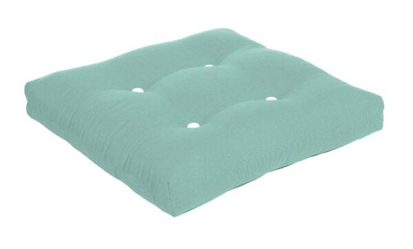 22 x 20 Button Tufted Ottoman Cushion Ottoman Cushions
