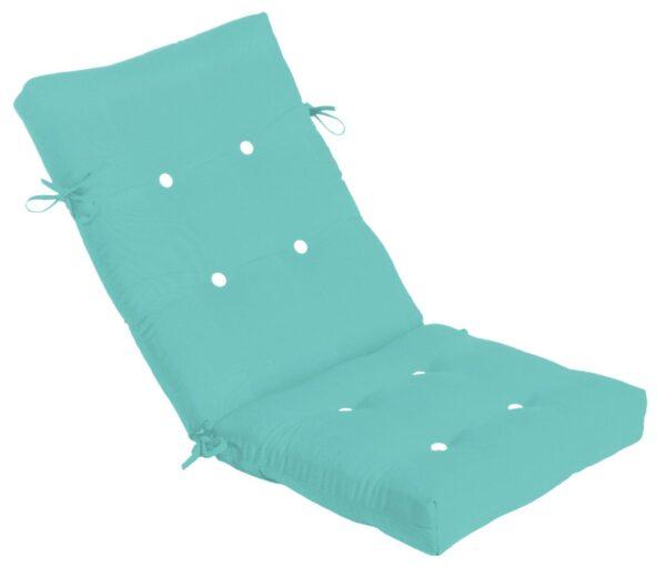 48 x 22 Button Tufted High Back/Recliner Cushion Hinged Cushions