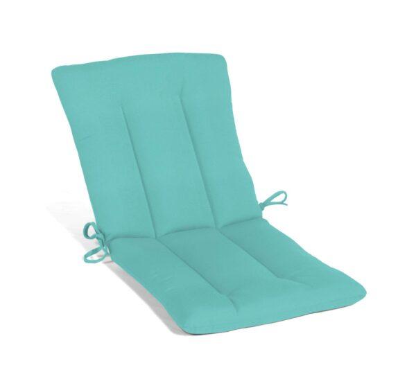 37 x 19 Iron High Back Cushion Hinged Cushions