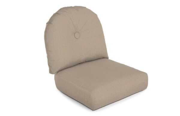 North Cape Intl. Charleston (Cush 600HSG) Style High Back Lounge Chair Cushion Curved Seat Deep Seating