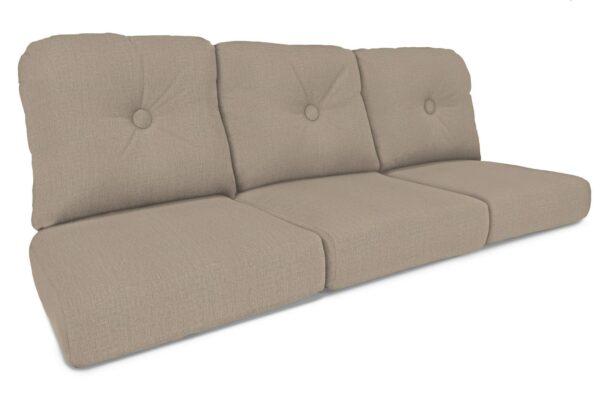 North Cape Intl. Charleston (Cush 600S) Style Sofa Cushion Curved Seat Deep Seating