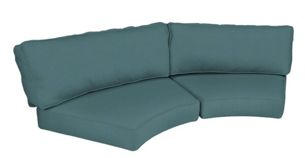 North Cape International Malibu Curved Sofa Cushion (CUSH2603SC) Misc