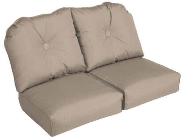 Erwin (GT 503&544) Loveseat Cushions Curved Seat Deep Seating