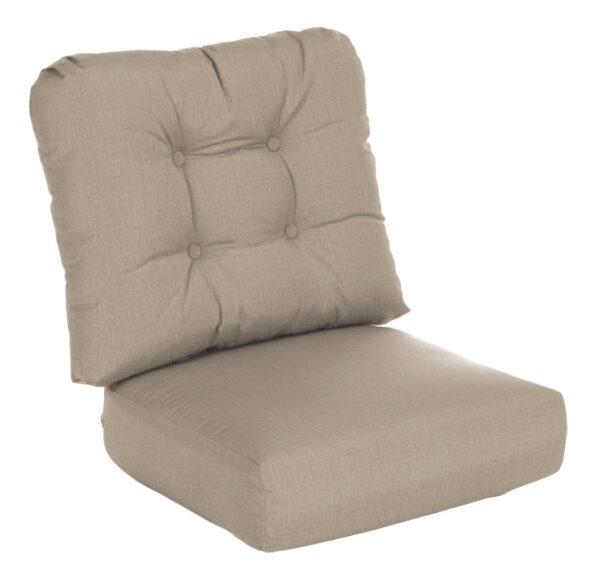 Lloyd Flanders Reflections Lounge Chair/Rocker Cushion Cushion Curved Seat Deep Seating