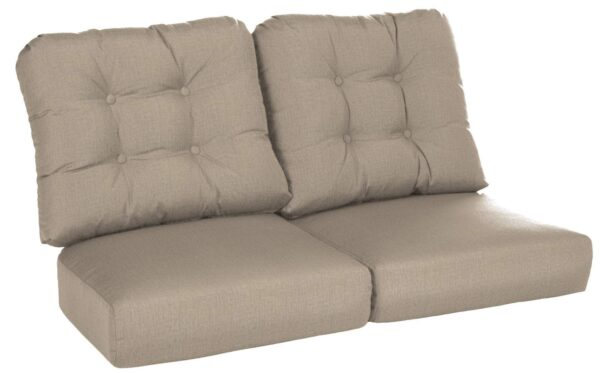 Lloyd Flanders Reflections Loveseat Cushions Curved Seat Deep Seating