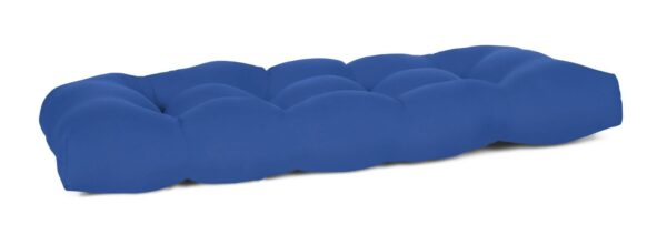 41 x 18 Tufted Wicker Settee Cushion Bench Cushions