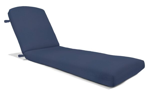 77 x 23 Deluxe Cast Aluminum Chaise Cushion Chaise Cushions