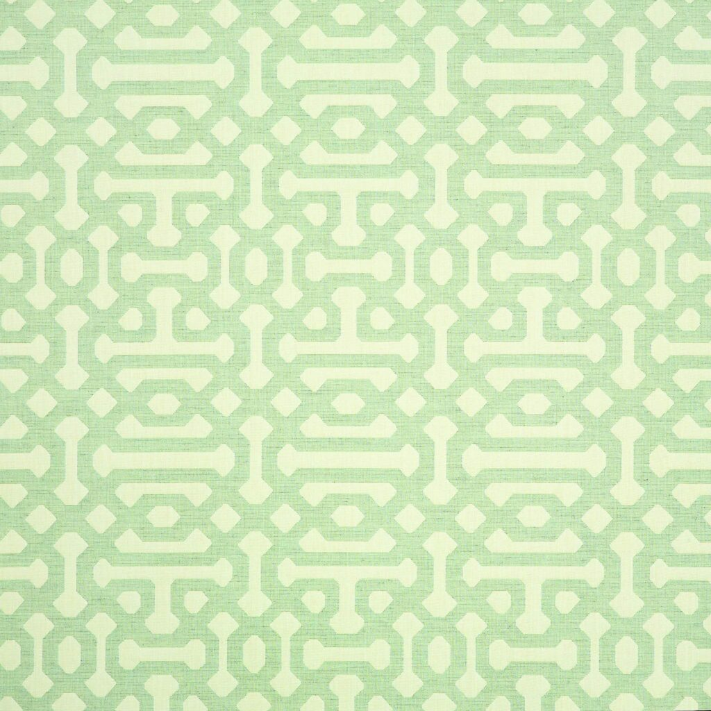 Fretwork Mist Fabrics