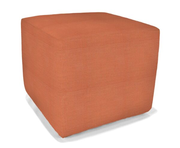 20 Inch Square Pool Stool Slip Covered Ottoman/Seat Accessories