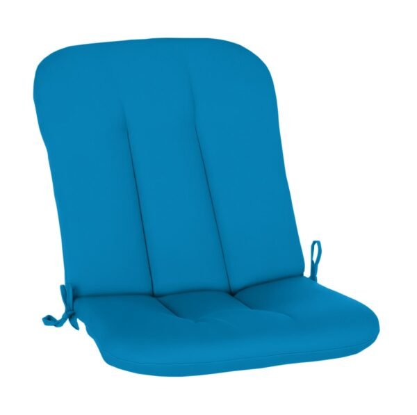 Dogwood High Back Cushion in Pacific Blue Clearance