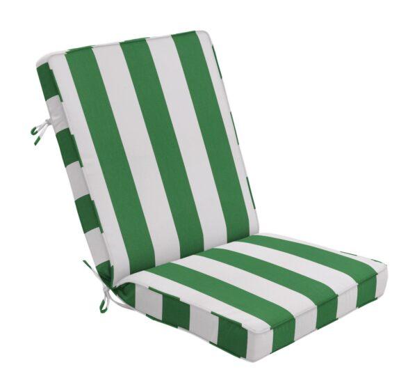44 x 22 Hinged Cushion in Cabana Emerald Clearance