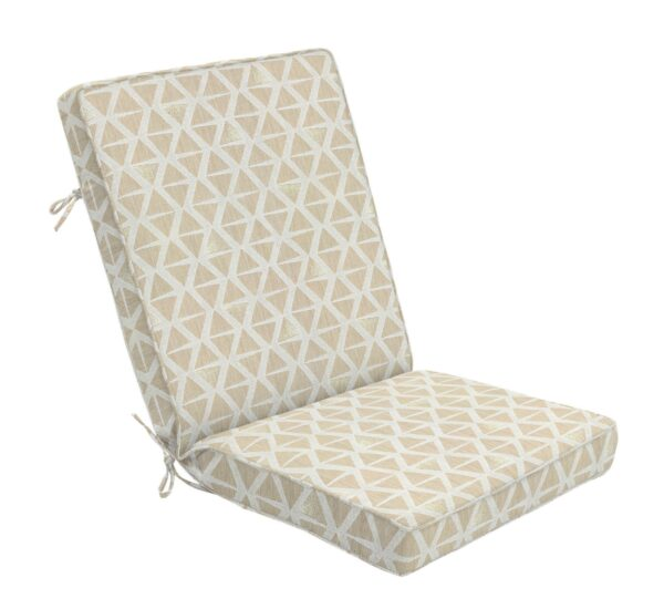 44 x 22 Hinged Cushion in Spectacle Pearl Clearance
