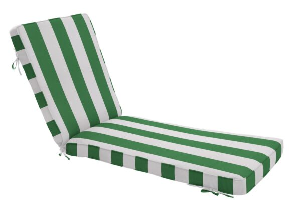 80 x 23 Chaise Cushion in Cabana Emerald Clearance