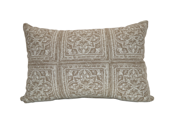 21 x 13 inch Throw Pillow in 6 Tile Mocha Clearance