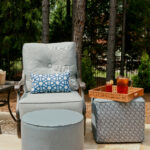 Custom outdoor cushions and accessories.