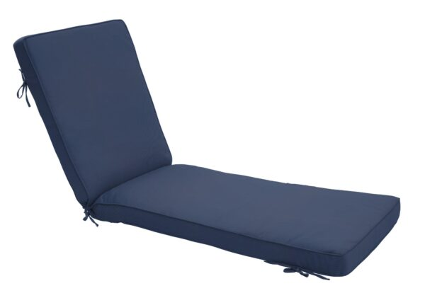 75 x 23 Chaise Cushion in Canvas Navy Clearance