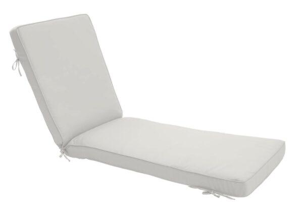 75 x 23 Chaise Cushion in Canvas White Clearance