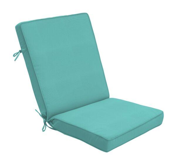 44×22 Hinged Cushion in Canvas Aruba Clearance