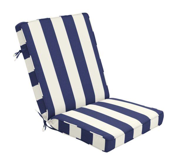 44 x 22 Hinged Cushion in Cabana Midnight Clearance
